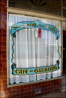 gulgong - the saint and sinner cafe