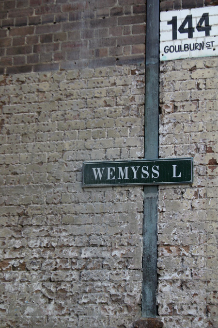 Wemyss Lane