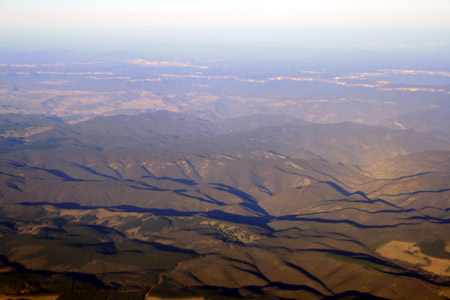 Flying over New South Wales