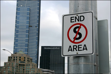 end s area